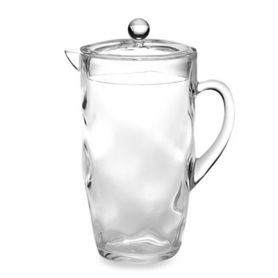 3D Texture Pitcher in Clear