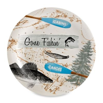 Lodge Melamine Dinner Plate