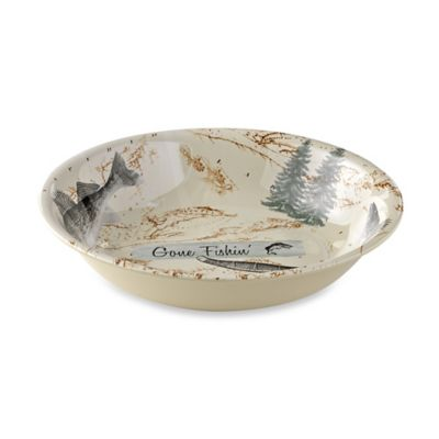 Lodge Melamine Serving Bowl