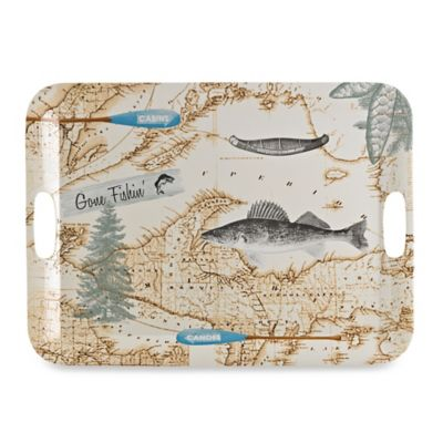 Lodge Melamine Handled Serving Tray