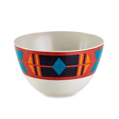 Kokkopelli Melamine Serving Bowl