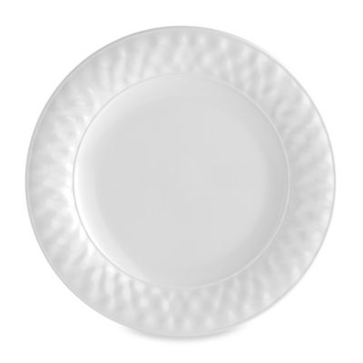 Valencia Dinner Plate in White
