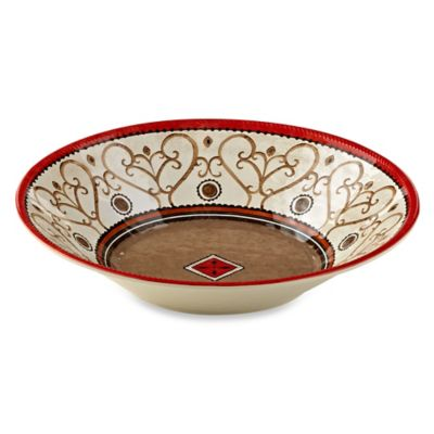 Patio Bronze Melamine Large Serving Bowl