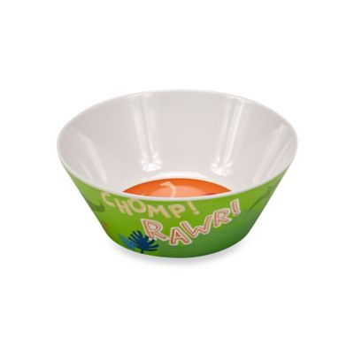 Dino Rawr Cereal Bowl