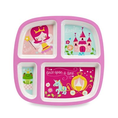 Princess Fairy Divided Plate