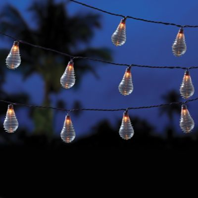 Vintage 10-Bulb String Lights in Clear