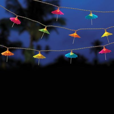10-Bulb Umbrella String Lights