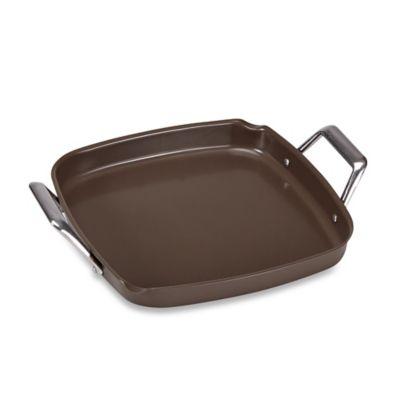 Just Grillin' Premium Ceramic Coated Deep Dish Griddle
