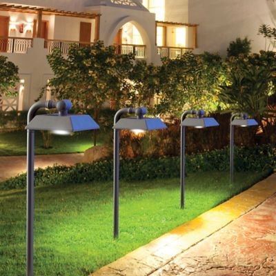 Solar-Powered Downward Shining Pathway Lights (4 Pack)