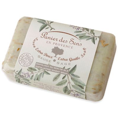 Panier Des Sens 7 oz. Exfoliating Sage Soap (Set of 2)