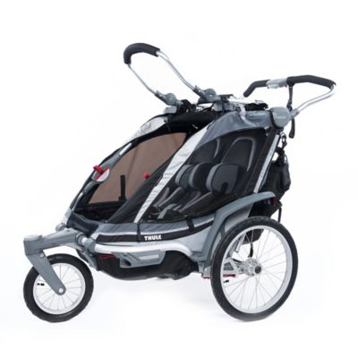 Thule® Chariot Chinook 2 Multi-Sport Double Child Carrier in Charcoal