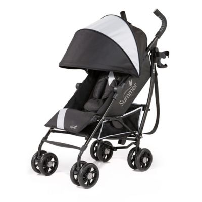 Black Grey Umbrella Stroller