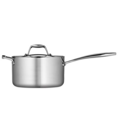 Tramontina® Gourmet 4 qt. Tri-Ply Clad Saucepan