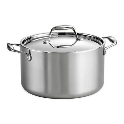 Tramontina® Gourmet 6 qt. Tri-Ply Clad Sauce Pot