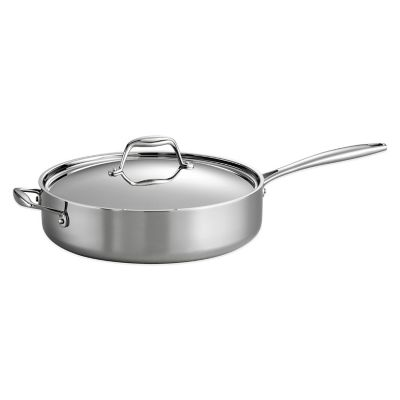 Tramontina® Gourmet 5 qt. Tri-Ply Clad Deep Sauté Pan