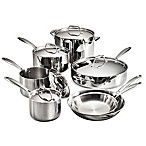 image of Tramontina® 12-Piece Tri-Ply Clad Cookware Set and Open Stock Collection