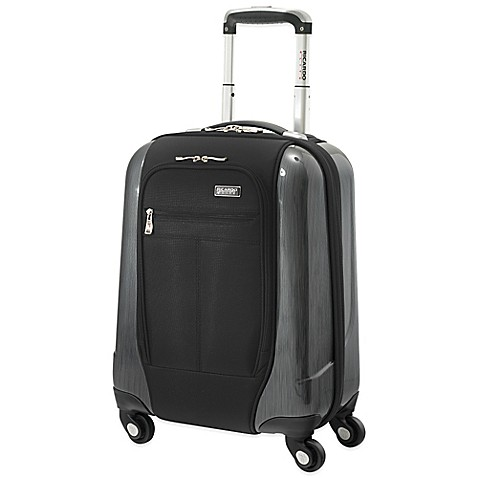 Beverly Hills Crystal City 17-Inch Universal Carry-On in Black