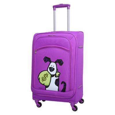 Ed Heck Money Doggie 25-Inch Spinner in Purple