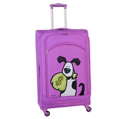 Ed Heck Money Doggie 28-Inch Spinner in Purple