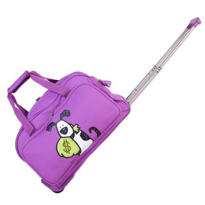 Ed Heck Money Doggie 20-Inch Duffle in Purple