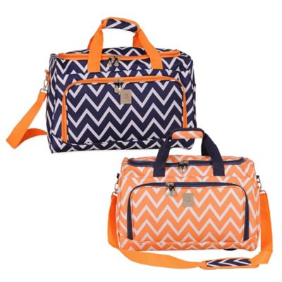 Jenni Chan Aria Madison City Duffle in Blue