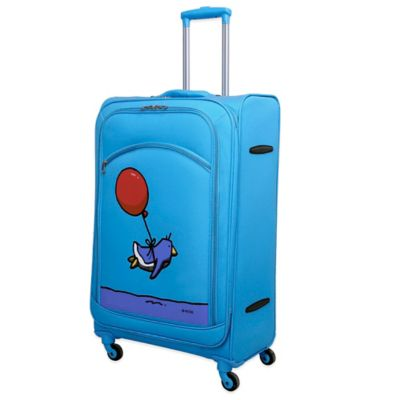 Flying Penguin 28-Inch Spinner in Sky Blue