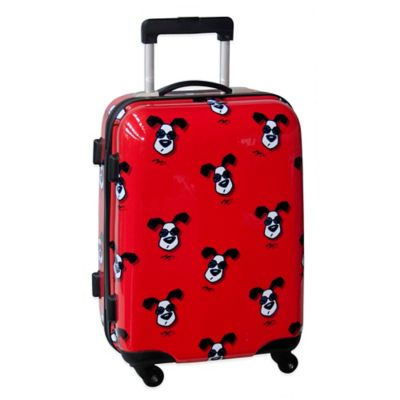 Ed Heck Looking Cool 21-Inch Hardside Expandable Spinner in Red