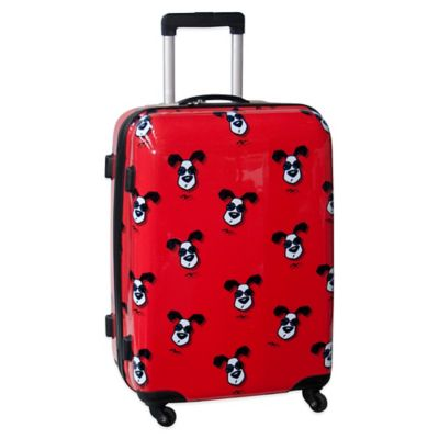 Ed Heck Looking Cool 25-Inch Hardside Expandable Spinner in Red