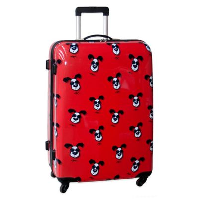 Ed Heck Looking Cool 28-Inch Hardside Expandable Spinner in Red
