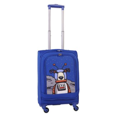 Ed Heck Moon Dog 21-Inch Spinner in True Blue