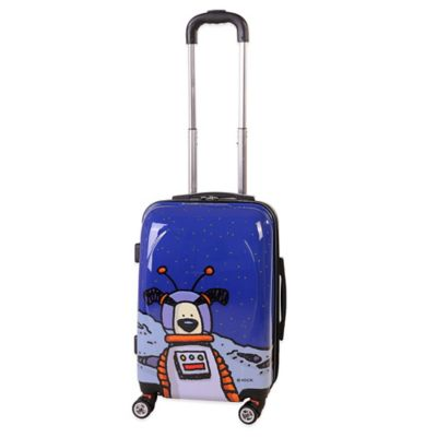 Ed Heck Moon Dog 21-Inch Hardside Expandable in True Blue