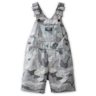 Camo Shortall in Grey