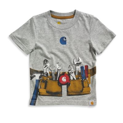 Carhartt® Size 3T Tool Belt Short Sleeve T-Shirt in Grey