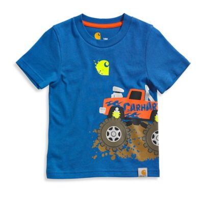Carhartt® Size 2T Monster Truck T-Shirt in Blue