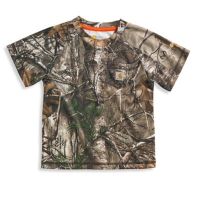 Carhartt® Size 2T Force® Realtree Xtra® Performance Camo Pocket T-Shirt