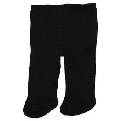 Planet Kids Size 12-24M Cotton Rich Tights in Black