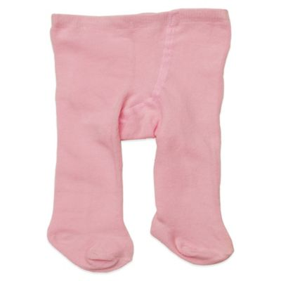 Planet Kids Size 0-6M Cotton Rich Tights in Light Pink