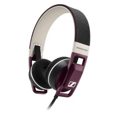 Sennheiser URBANITE On-Ear Headphones in Plum