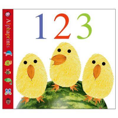 Alphaprints: 123 Board Book by Roger Priddy