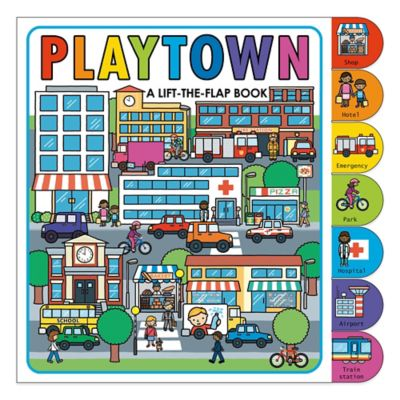 """Playtown: A Lift-The-Flap Board Book"" by Roger Priddy"