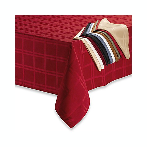 "Origins Microfiber 60"" x 84"" Oblong Tablecloth"