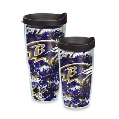 Tervis® NFL Baltimore Ravens Splatter Wrap 24 oz. Tumbler with Lid