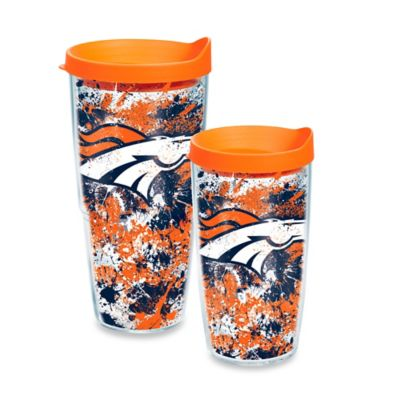 Tervis® NFL Denver Broncos Splatter Wrap 16 oz. Tumbler with Lid