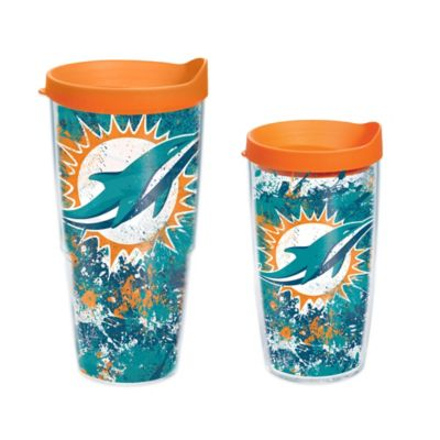 Tervis® NFL Miami Dolphins Splatter Wrap 16 oz. Tumbler with Lid