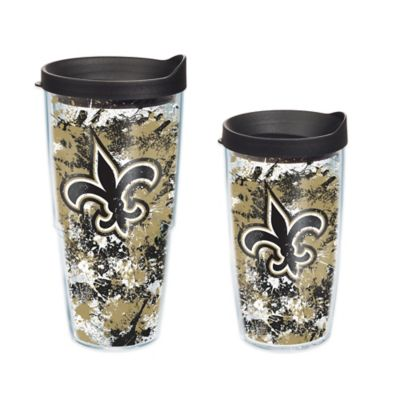 Tervis® NFL New Orleans Saints Splatter Wrap 16 oz. Tumbler with Lid