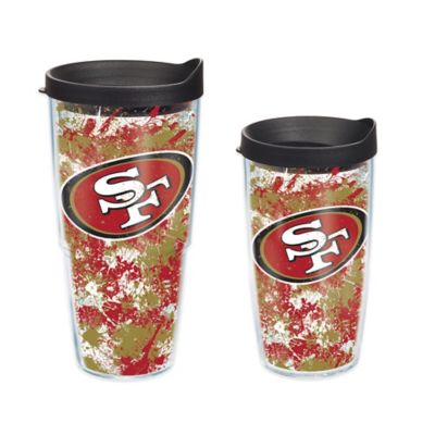 Tervis® NFL San Francisco 49ers Splatter Wrap 16 oz. Tumbler with Lid