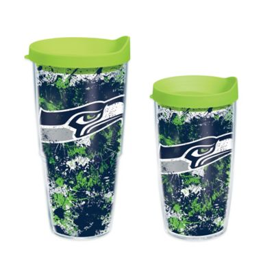 Tervis® NFL Seattle Seahawks Splatter Wrap 16 oz. Tumbler with Lid