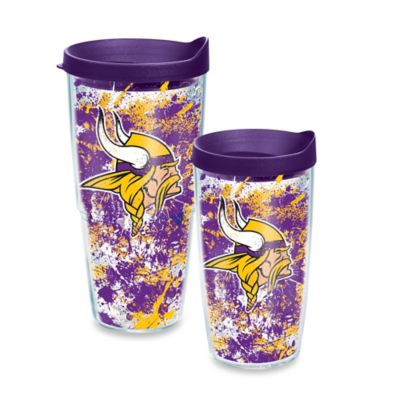 Tervis® NFL Minnesota Vikings Splatter Wrap 16 oz. Tumbler with Lid