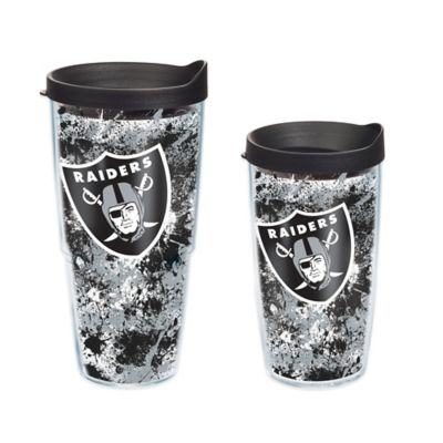Tervis® NFL Oakland Raiders Splatter Wrap 16 oz. Tumbler with Lid