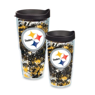 Tervis® NFL Pittsburgh Steelers Splatter Wrap 16 oz. Tumbler with Lid